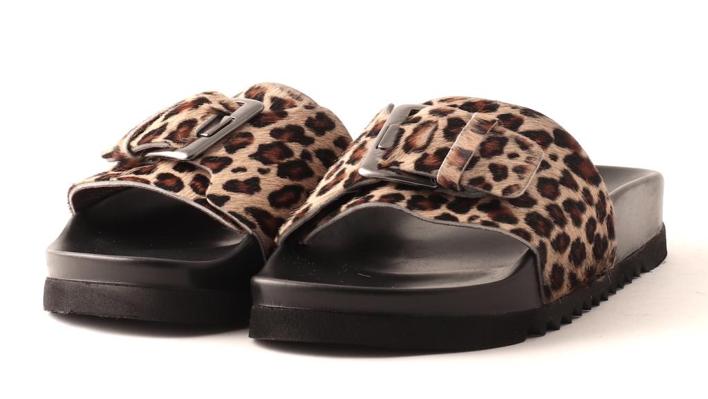 38edb4b5656 Lofina slippers, leopard - Sandaler - Fiona sko